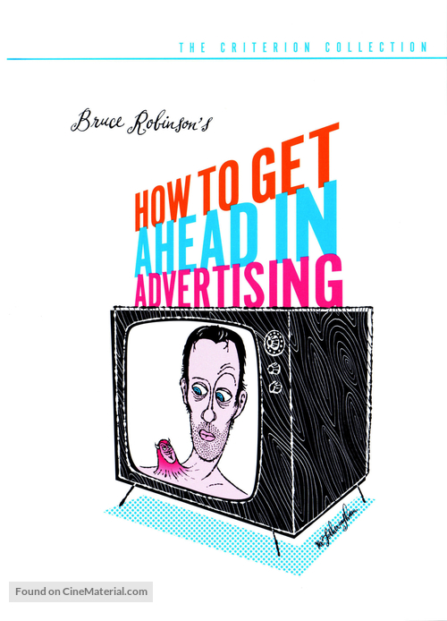 How to Get Ahead in Advertising - DVD movie cover