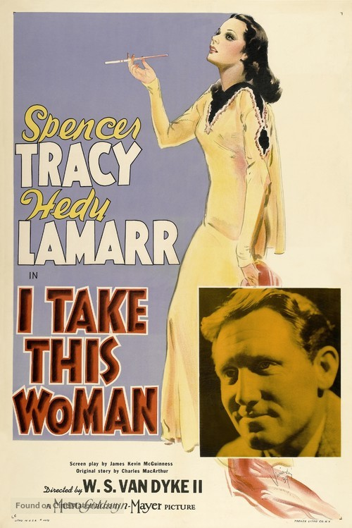 I Take This Woman - Movie Poster