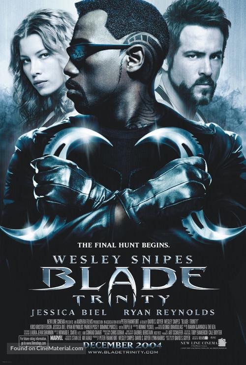 Blade: Trinity - Movie Poster
