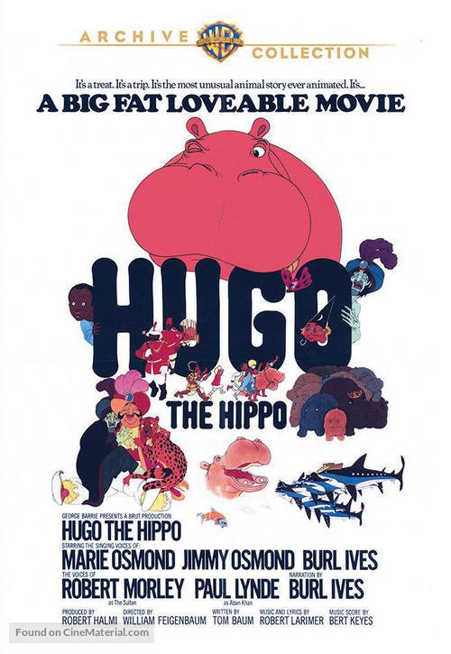 Hugó a víziló - DVD movie cover