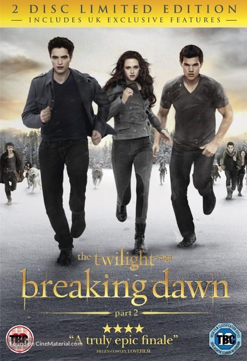 The Twilight Saga: Breaking Dawn - Part 2 - British DVD movie cover
