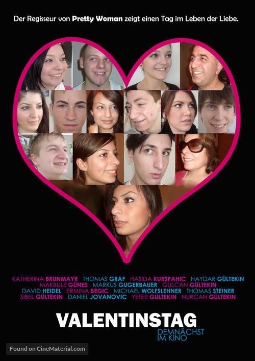 Valentine's Day - German Movie Poster