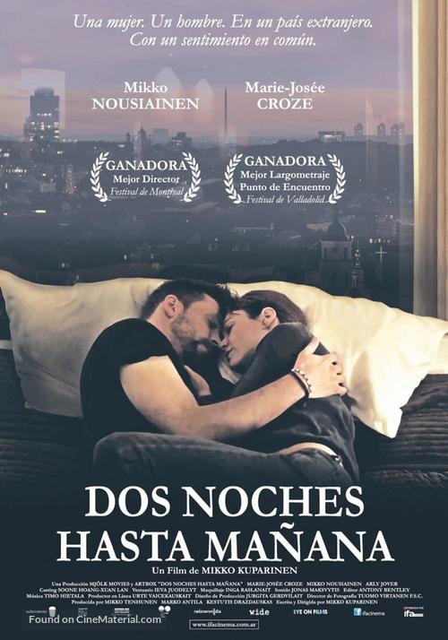 2 yötä aamuun - Argentinian Movie Poster