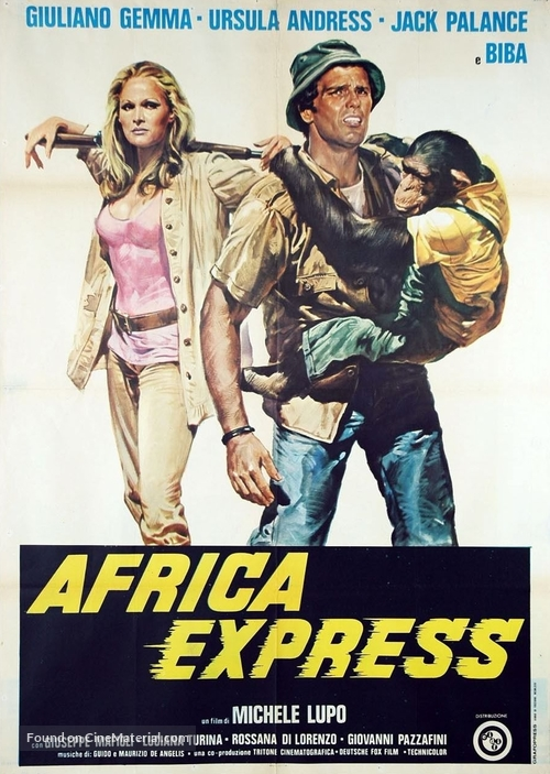 Africa Express - Italian Movie Poster