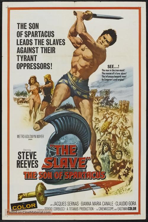 Il figlio di Spartacus - Movie Poster