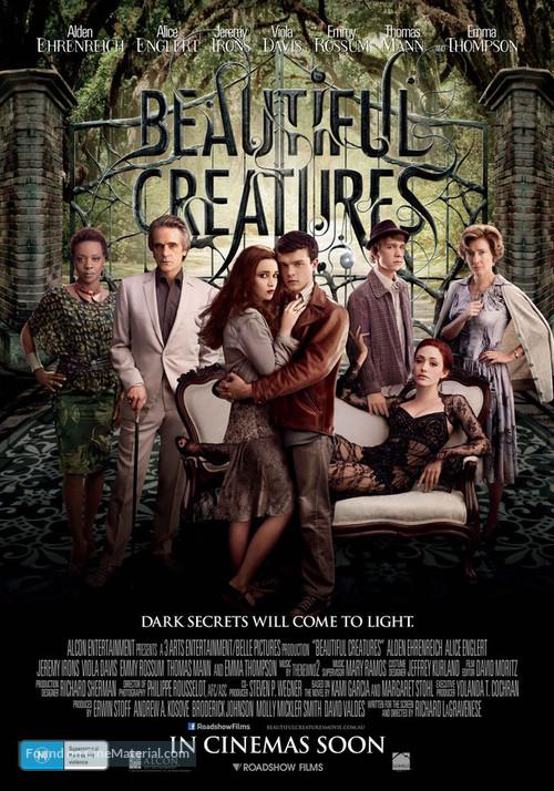 Beautiful Creatures - Australian Movie Poster