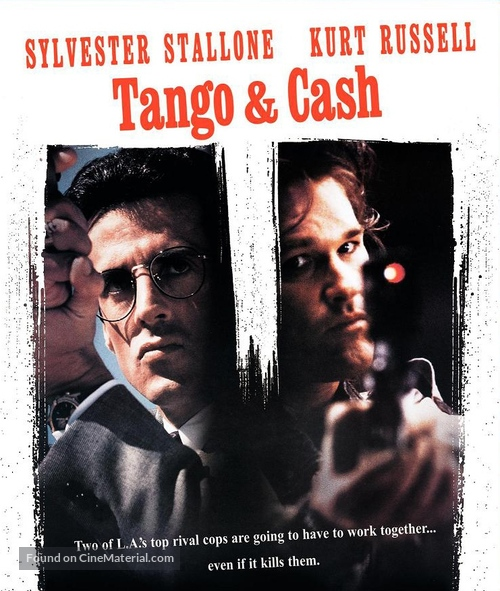 Tango And Cash - Blu-Ray movie cover