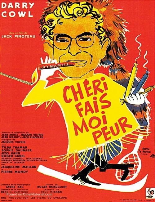 Chéri, fais-moi peur - French Movie Poster