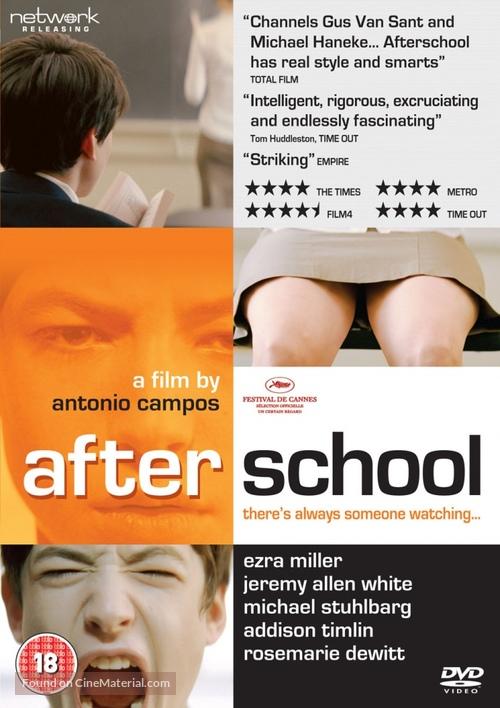 Afterschool - British Movie Cover
