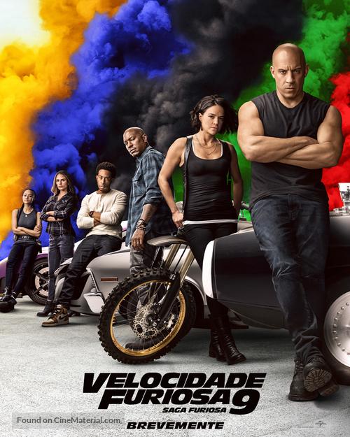 F9 - Portuguese Movie Poster