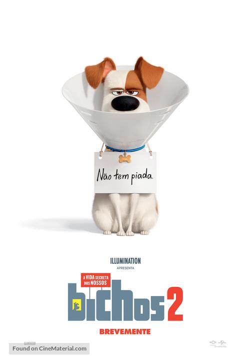 The Secret Life of Pets 2 - Portuguese Movie Poster