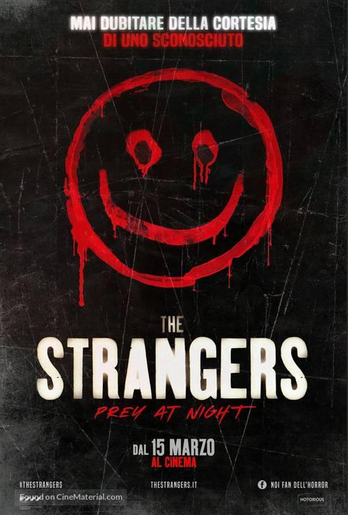 The Strangers: Prey at Night - Italian Movie Poster