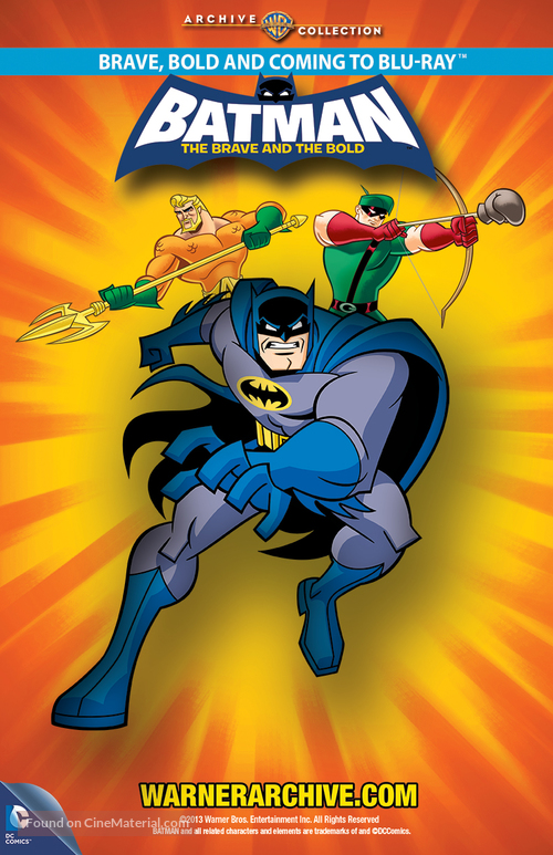 """""""Batman: The Brave and the Bold"""" - Video release movie poster"""