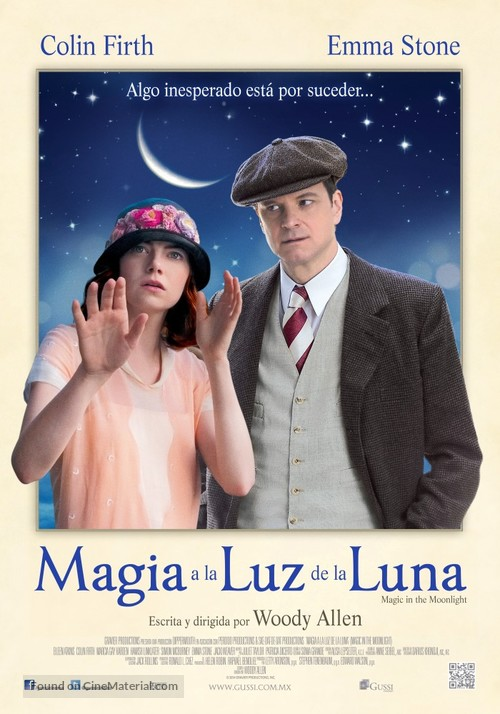 Magic in the Moonlight - Mexican Movie Poster