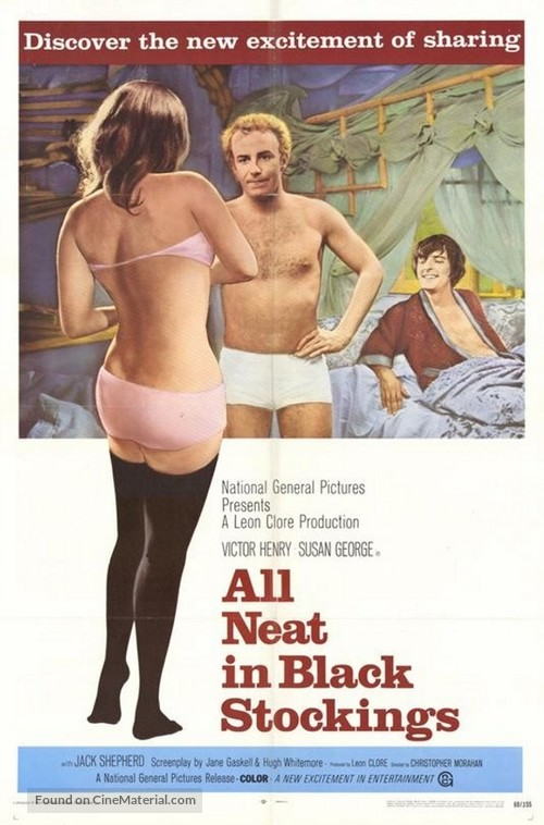 All Neat in Black Stockings - Movie Poster