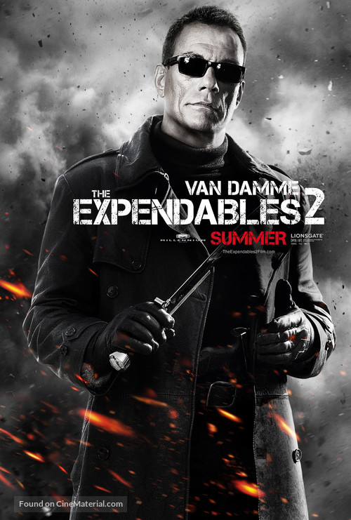 The Expendables 2 - Movie Poster