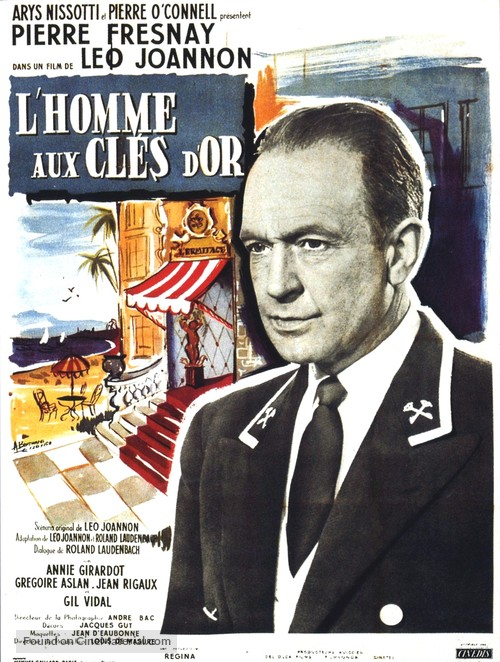 L'homme aux clefs d'or - French Movie Poster