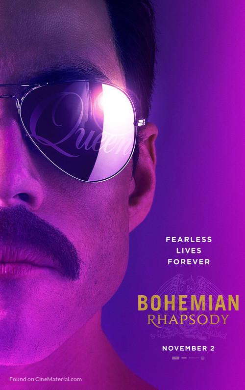 Bohemian Rhapsody - Movie Poster