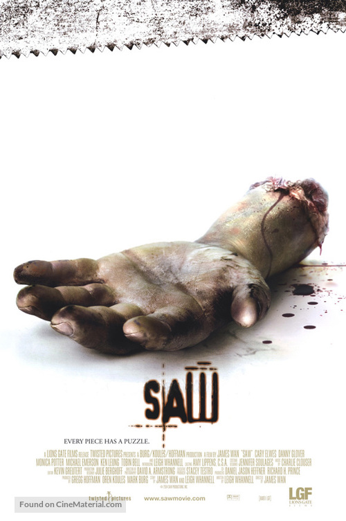 Saw - Movie Poster