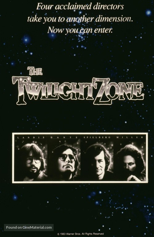 Twilight Zone: The Movie - Movie Poster