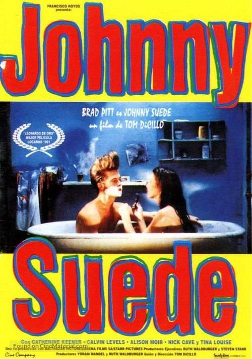 Johnny Suede - Spanish poster