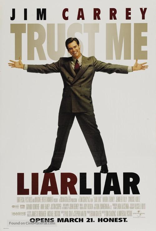 Liar Liar - Movie Poster