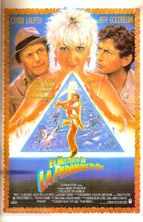 Vibes - Spanish Movie Poster