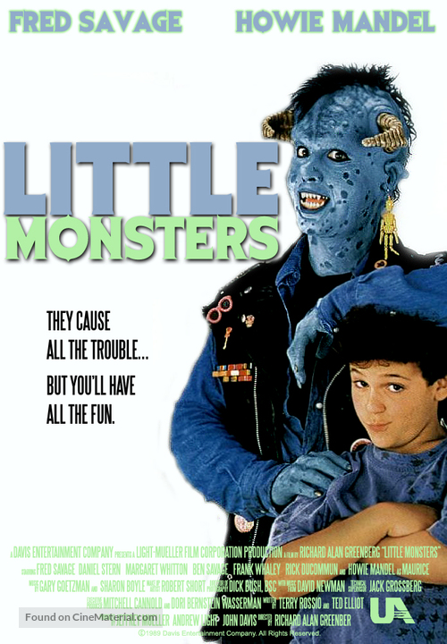 Little Monsters - Canadian Movie Poster