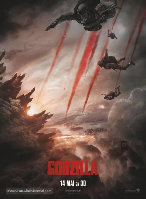 Godzilla - French Movie Poster