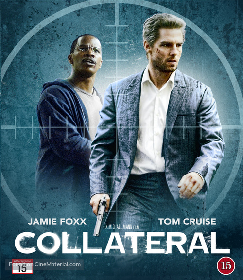 Collateral 2004 Danish Blu Ray Movie Cover