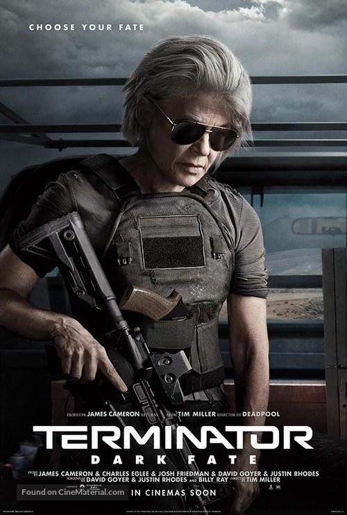 Terminator: Dark Fate - International Movie Poster