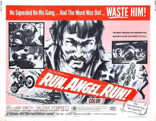 Run, Angel, Run - Movie Poster