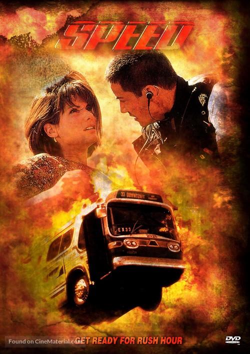 Speed - DVD movie cover
