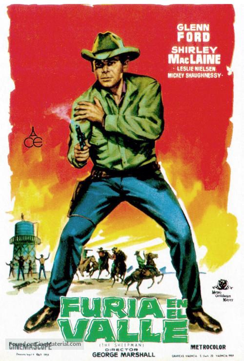 The Sheepman - Spanish Movie Poster