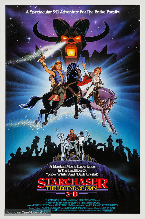 Starchaser: The Legend of Orin - Movie Poster