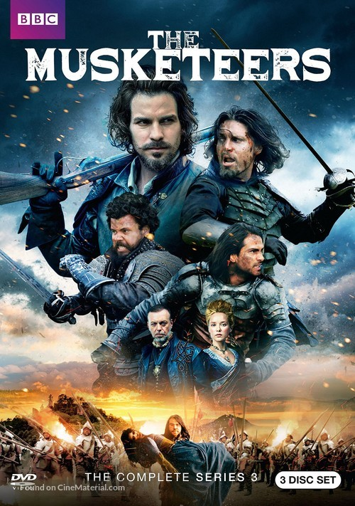 """""""The Musketeers"""" - Movie Cover"""