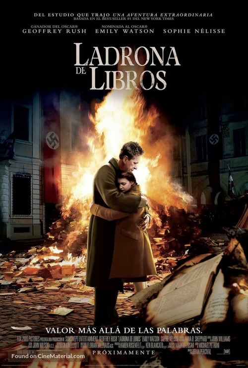 The Book Thief - Mexican Movie Poster