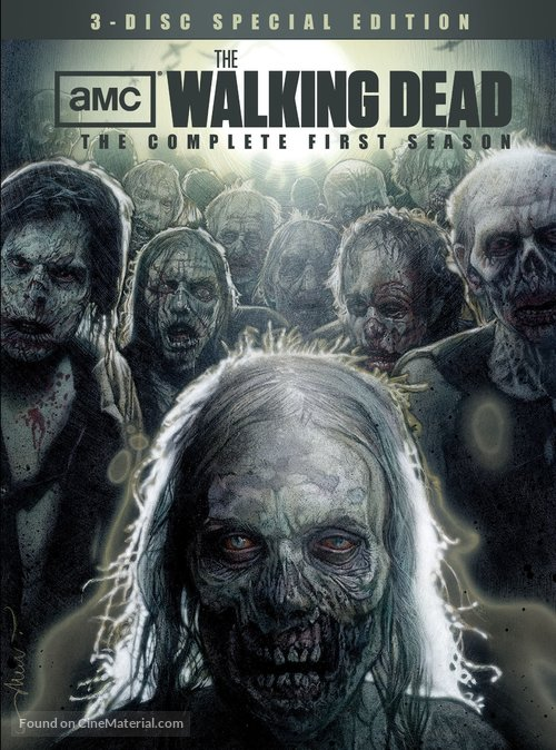 """""""The Walking Dead"""" - DVD movie cover"""