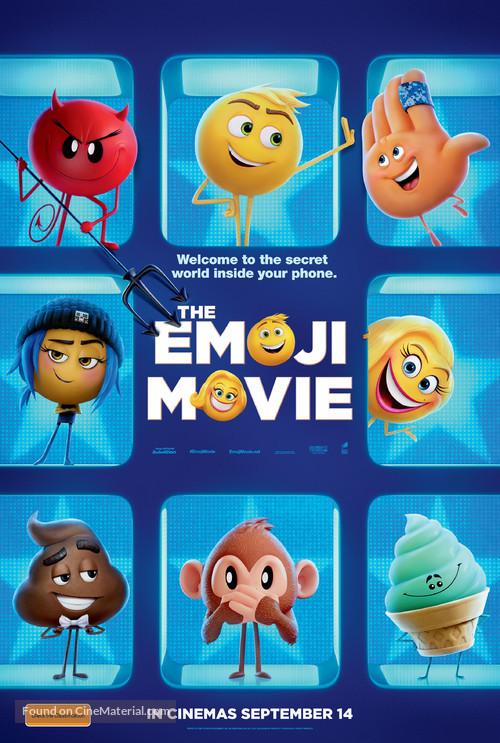 The Emoji Movie - Australian Movie Poster