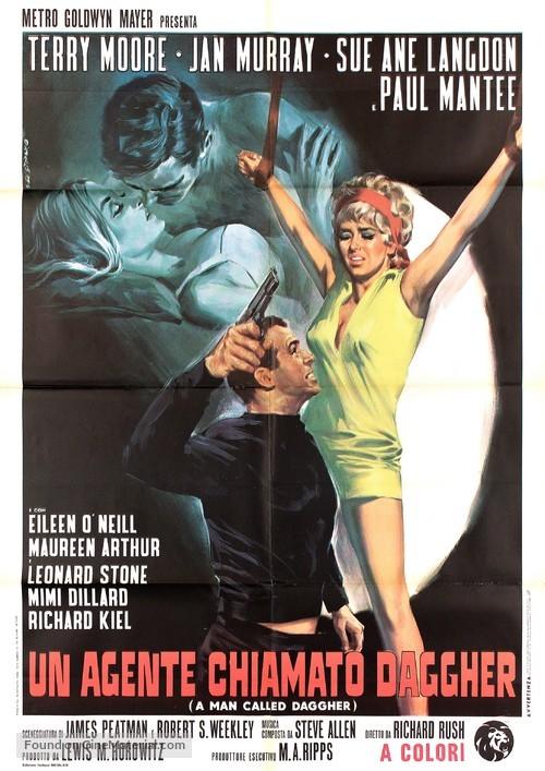 A Man Called Dagger - Italian Movie Poster