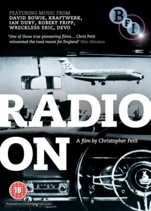 Radio On - British DVD cover