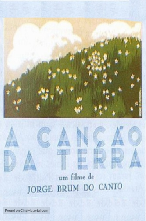 A Canção da Terra - Portuguese DVD movie cover