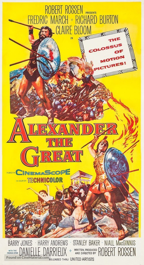 Alexander the Great - Movie Poster