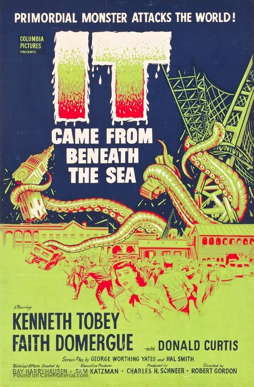 It Came from Beneath the Sea - Movie Poster