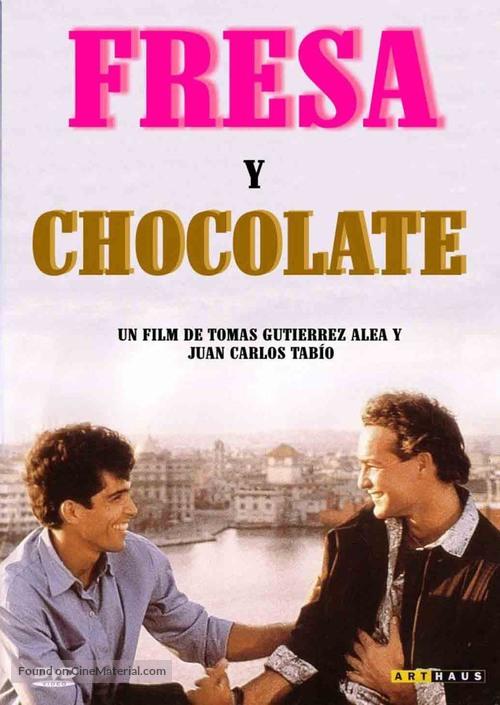 Fresa y chocolate - Dutch Movie Cover