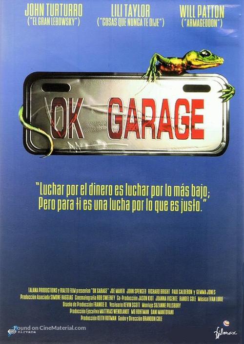 O.K. Garage - Spanish Movie Cover