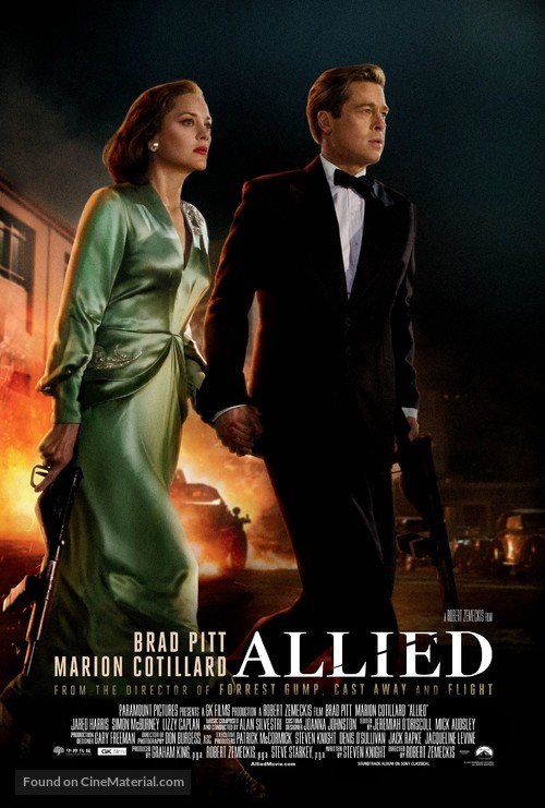 Allied - Movie Poster