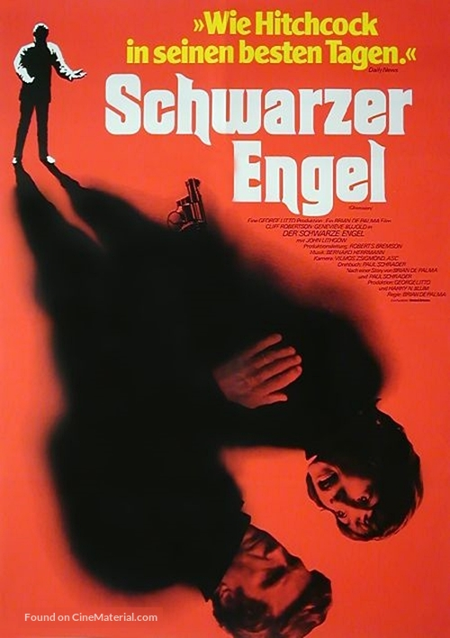 Obsession - German Movie Poster