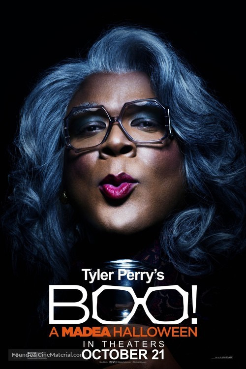 Boo! A Madea Halloween - Movie Poster