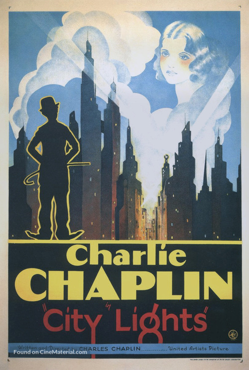 City Lights - Theatrical movie poster